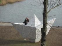 Papierenbootje IJburg